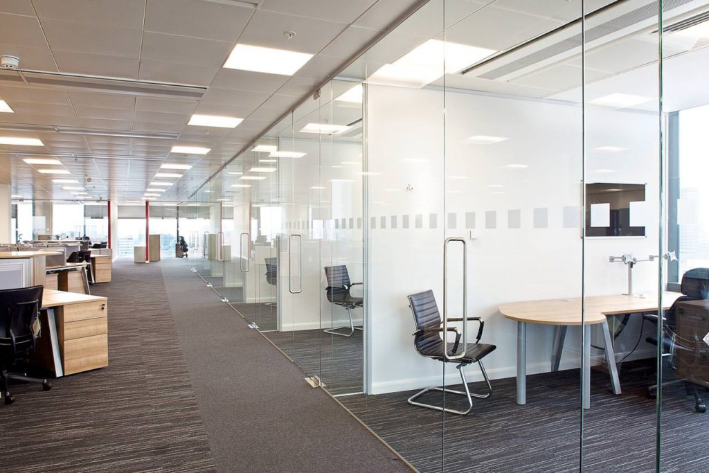 Office fit out to a new business in the Sutherland Shire